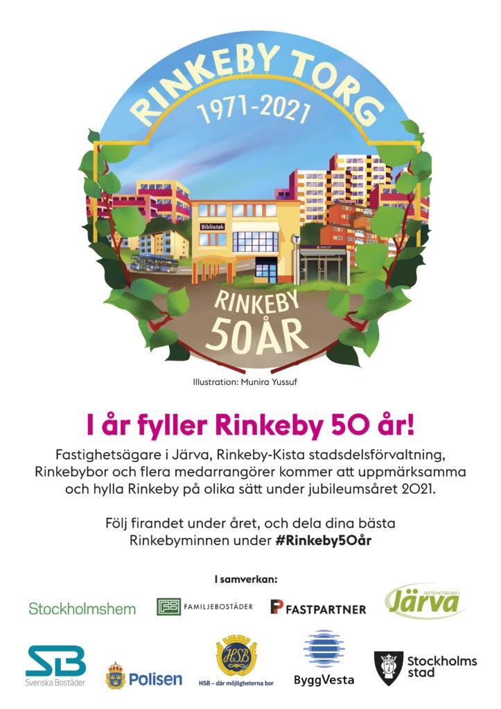 Rinkeby 50 år_affisch